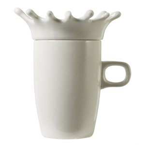 Tasse avec couvercle 'Splash