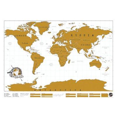 Original Scratch Map