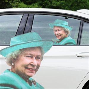 Autocollant pour voiture Reine