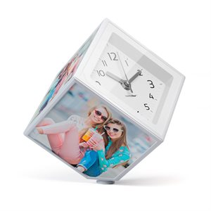 Kube Photo-Clock 4'' X 4''