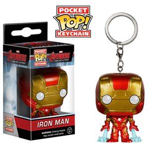 Porte-clé Pocket Pop! Iron Man