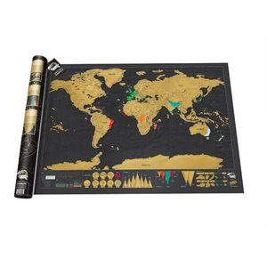 Deluxe Scratch Map