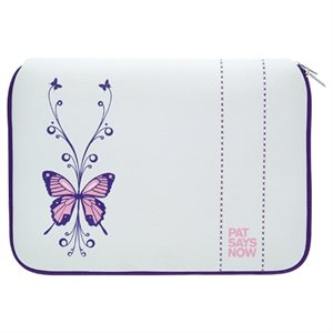 Laptop Sleeve Butterfly - 16-17''- Pat Says Now