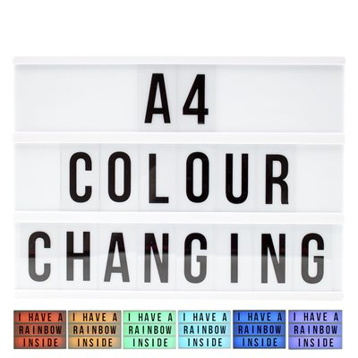 Lightbox-Colour Change-Standard Size