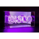 Neon Acrylic Light Box-DISCO
