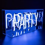 Neon Acrylic Light Box-Party