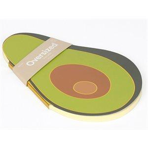 Oversized Notebook Avocado