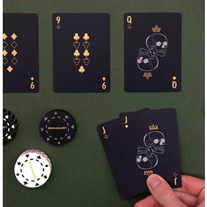 Up the Ante Gold Playing Cards