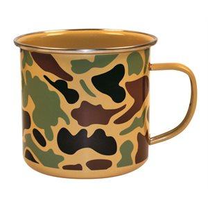 Camoware enamel mug