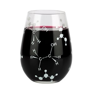 Stemless Wine Glass-Chemist Approved