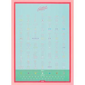 Cocktail Connoisseur Scratch Poster