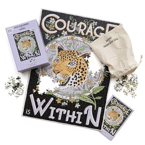 Casse-tête Print Club-Courage Within