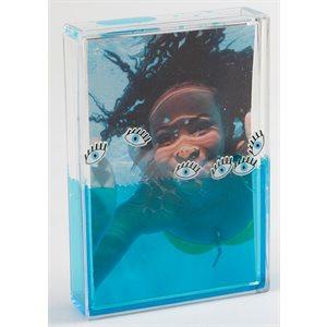 Aqua Photo Frame-Eye