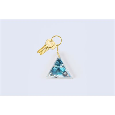 Aqua Eye keychain