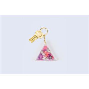 Aqua Unicorn keychain