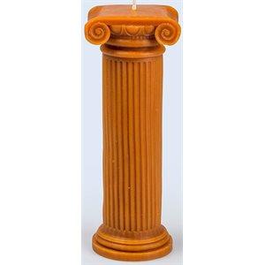 Hestia Column Candle M Terracotta