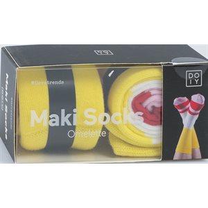 Maki Socks-Omelette