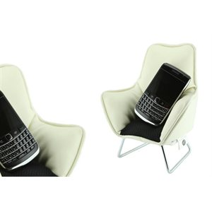 Chairspeaker Creme-Black seat