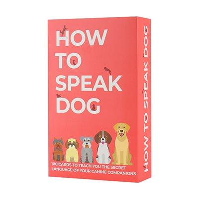 How to speak dog Cards