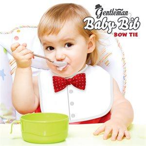 Gentleman Baby Bib-Bow Tie