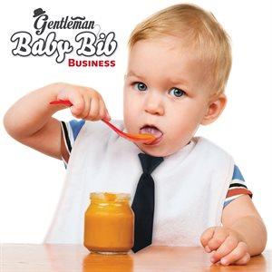 Gentleman Baby Bib-Tie