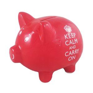 Keep Calm Piggy Bank