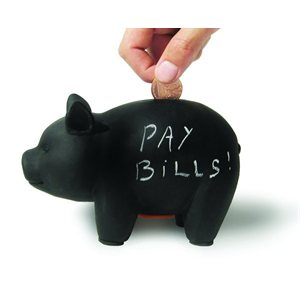 Perry the Capitalist Pig Bank