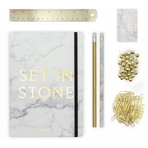 Set in Stone Stationery Set