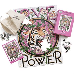 Casse-tête Print Club-Love is Power