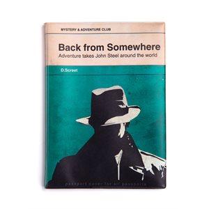 A Novel passport cover-POS Display