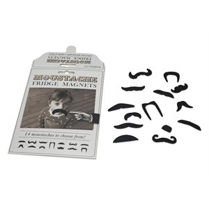 Moustache Fridge Magnets