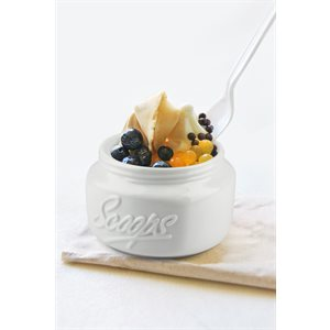 Mason Scoops - White (Set of 2)