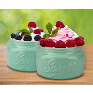 Mason Scoops - Green (Set of 2)