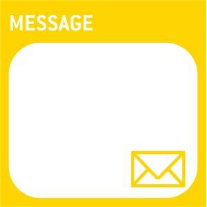 Mega Sticky Note - Message