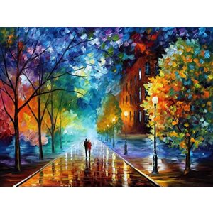 Paint by Numbers Kit-Walk in a Park(40 x 50)