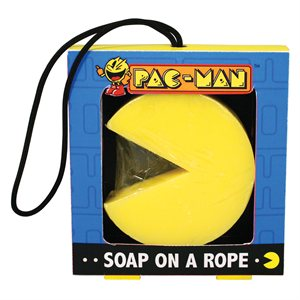 Pac-Man Soap on a Rope