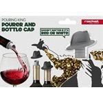 Pouring king POURER / BOTTLE CAP