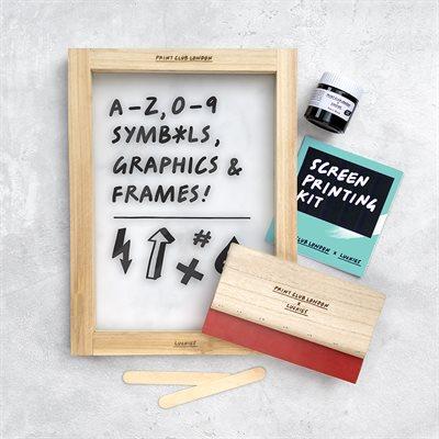Print Club Screen Printing Kit