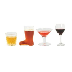 Mini Cocktails Shot Glasses(Set of 4)