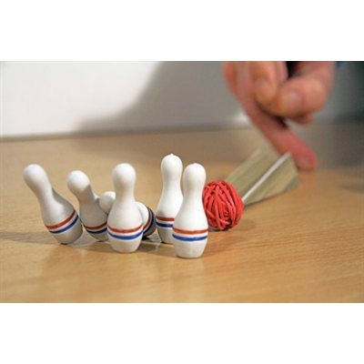 Desktop Bowling Skittles