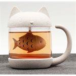 Cat Tea Cup