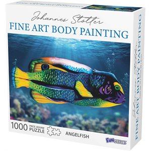 Johannes Stotter Angel Fish Body Art Puzzle