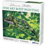 Johannes Stotter Chameleon Body Art Puzzle