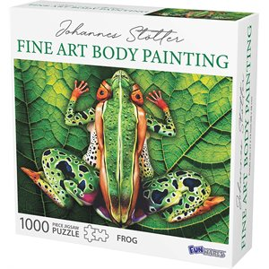 Johannes Stotter Frog Body Art Puzzle