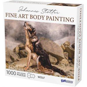 Johannes Stotter Wolf Body Art Puzzle