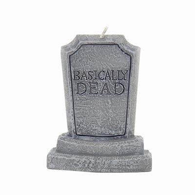 Basically Dead Bithday Cake Candle
