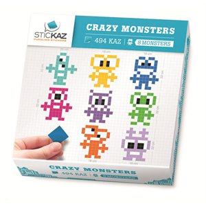 Stickaz Box-Crazy Monsters