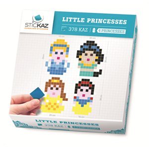 Stickaz Box-Little Princesses
