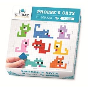 Stickaz Box-Phoebe's Cats