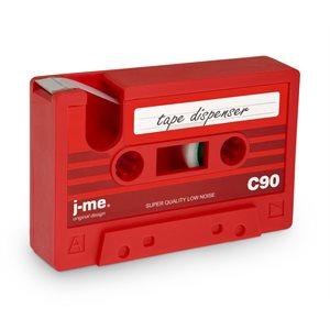 CASSETTE TAPE DISPENSER-Red